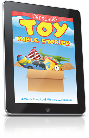 FREE Toy Bible Stories Preschool Sunday School Lesson