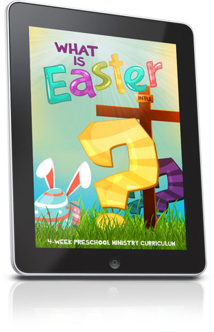 FREE What is Easter? Preschool Ministry Lesson