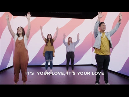 It's Your Love Worship Video for Kids