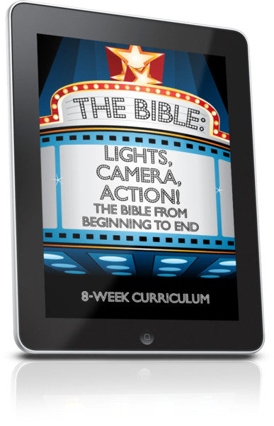 FREE The Bible: Lights, Camera, Action Children's Ministry Lesson