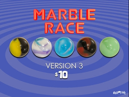 Marble Race 3 Church Game Video for Kids