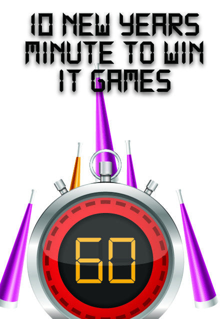 10 New Year's Minute to Win It Games