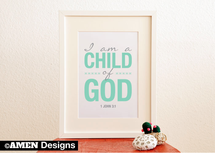 Child of God Printable