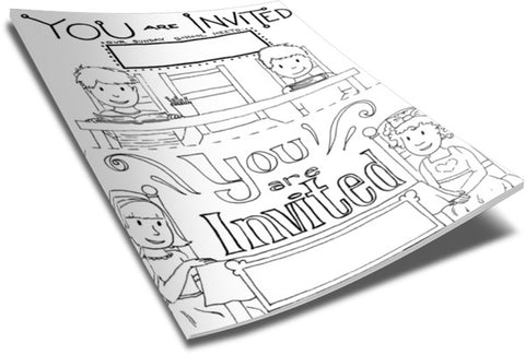 childrens church coloring pages - photo#43