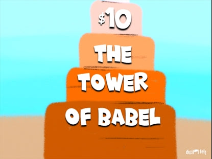 The Tower of Babel Church Game Video for Kids