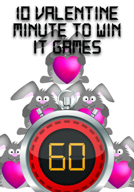 10 valentines minute to win it games - Valentine Minute To Win It Games