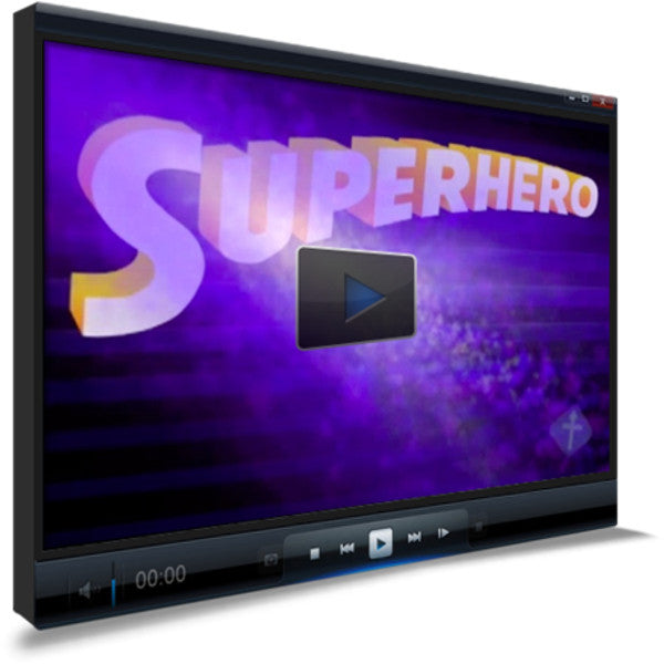 Superhero Children's Ministry Worship Video
