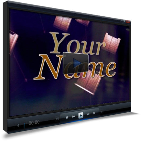 Your Name Children's Ministry Worship Video