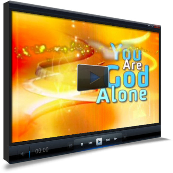 You Are God Alone Children's Ministry Worship Video