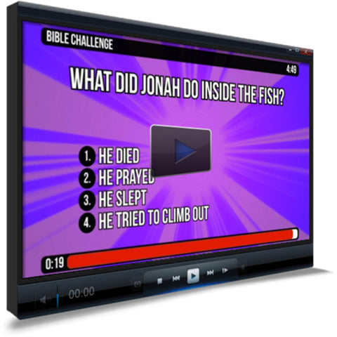 Jonah 2 Bible Trivia for Kids