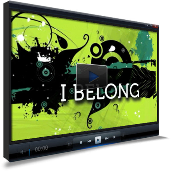 I Belong Children's Ministry Worship Video