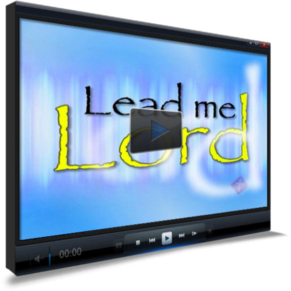 Lead Me Lord Children's Ministry Worship Video