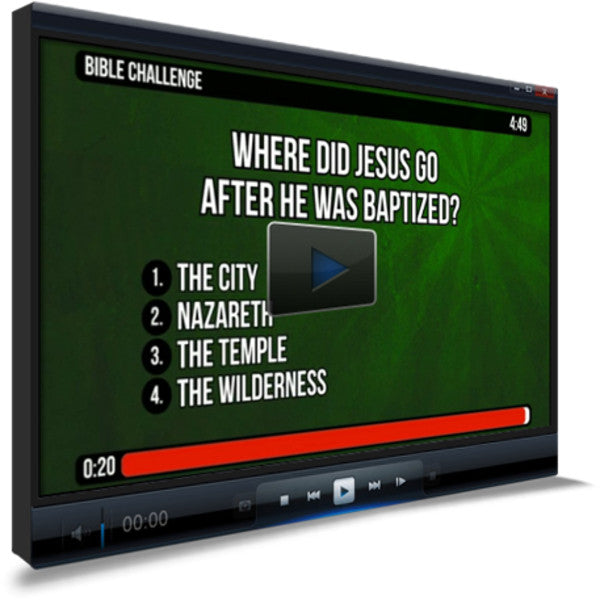 Matthew 4:1-11 Bible Trivia for Kids