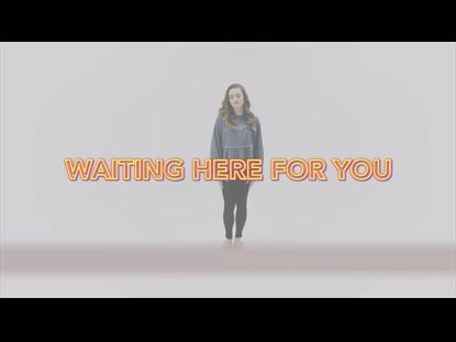 Waiting Here For You Hand Motions Video