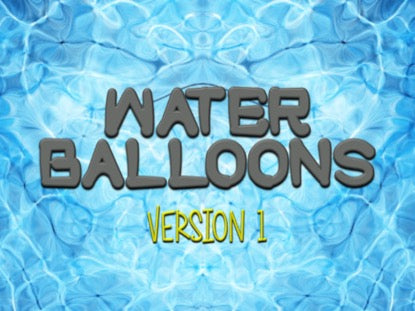 Water Balloons Version 1 Church Game Video for Kids