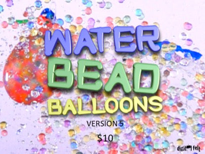 Water Bead Balloons 5 Church Game Video for Kids