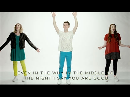 You Never Change Worship Video for Kids