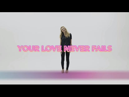 Your Love Never Fails Hand Motions Video