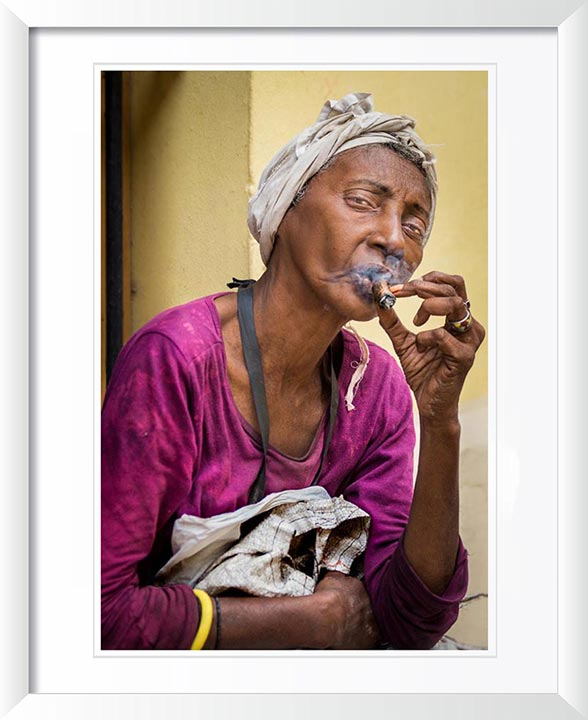 """A Smoking Woman"" by Dorte Verner Photography"