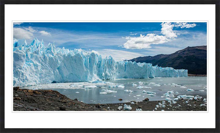 """Calving Glacier"" by Dorte Verner Photography"