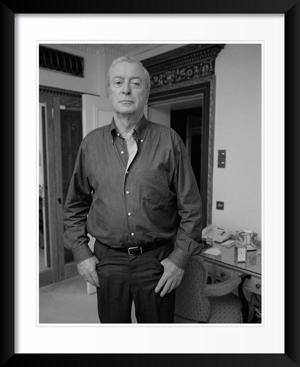 """Micheal Caine"" by John Stoddart Photography"