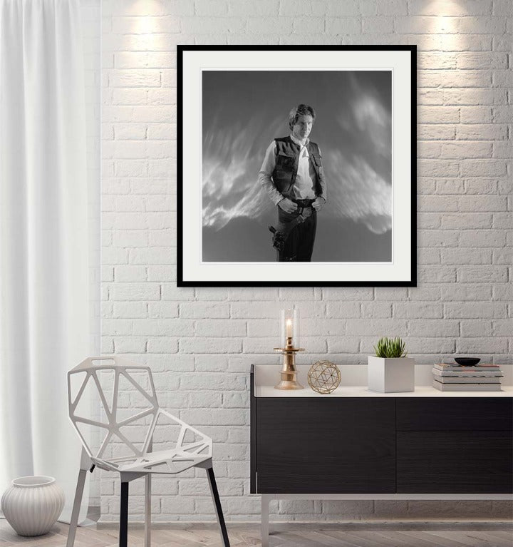 """Han Solo (Standing)"" by Brian Griffin Photography-Artography Limited"