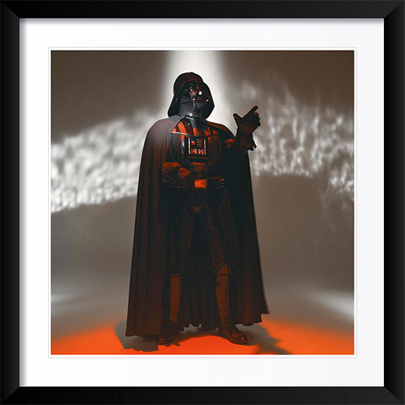 """Darth Vader"" Photography by Brian Griffin"
