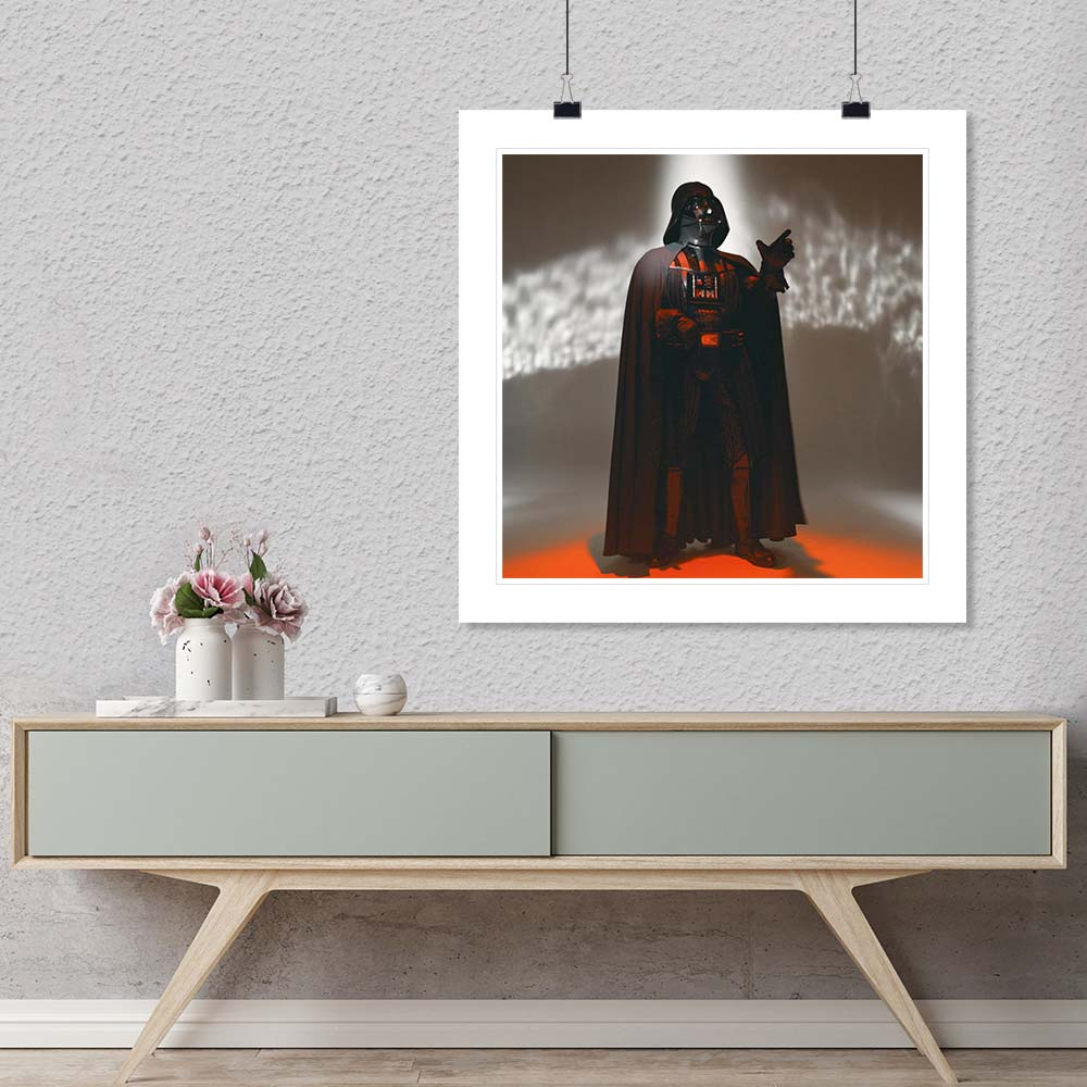 """Darth Vader"" by Brian Griffin Photography Promo-Artography Limited"