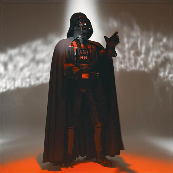 """Darth Vader"" by Brian Griffin Photography-Artography Limited"