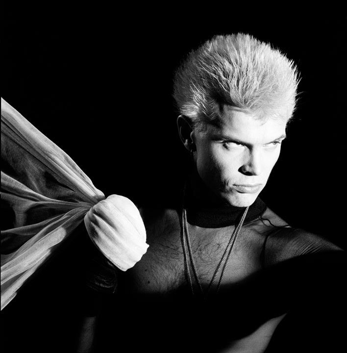 """Billy Idol - Rebel Yell"" Photography by Brian Griffin"