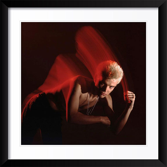 """Billy Idol - 2"" Photography by Brian Griffin"