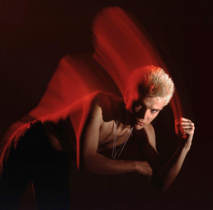 """Billy Idol - 2"" by Brian Griffin Photography-Artography Limited"