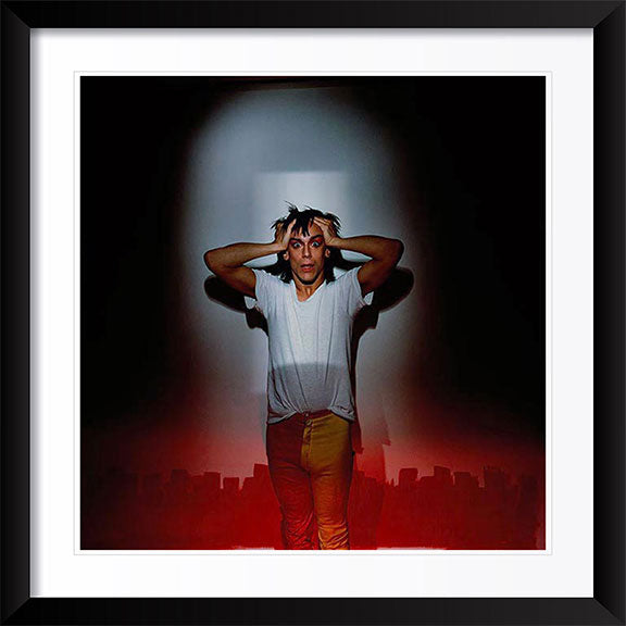 """IGGY POP Soldier"" Photography by Brian Griffin"
