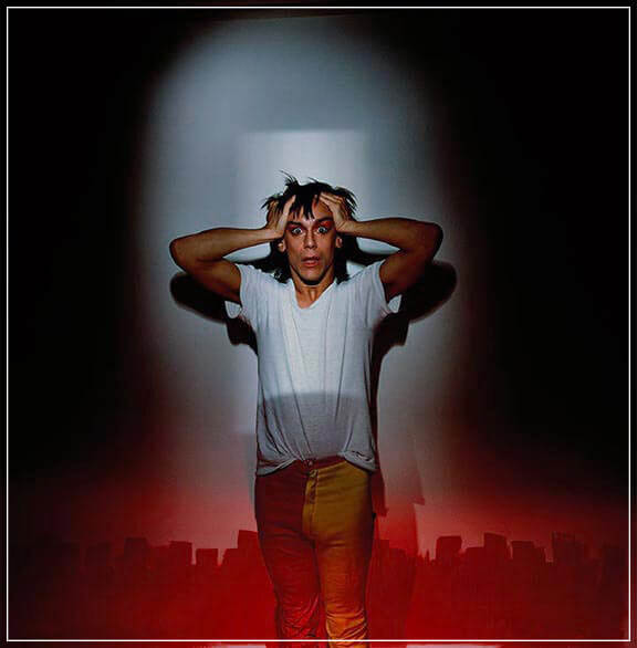 """IGGY POP Soldier"" by Brian Griffin Photography-Artography Limited"