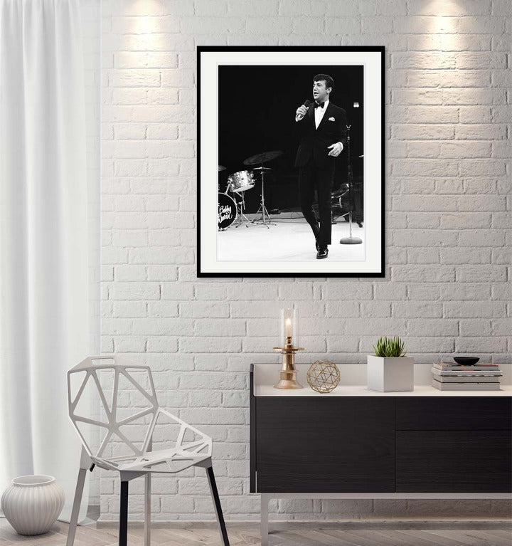 """Bobby Darin"" by Barry Kramer Photography-Artography Limited"