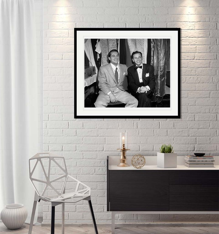 """Frank Sinatra & Perry Comoubeck 2"" by Barry Kramer Photography-Artography Limited"