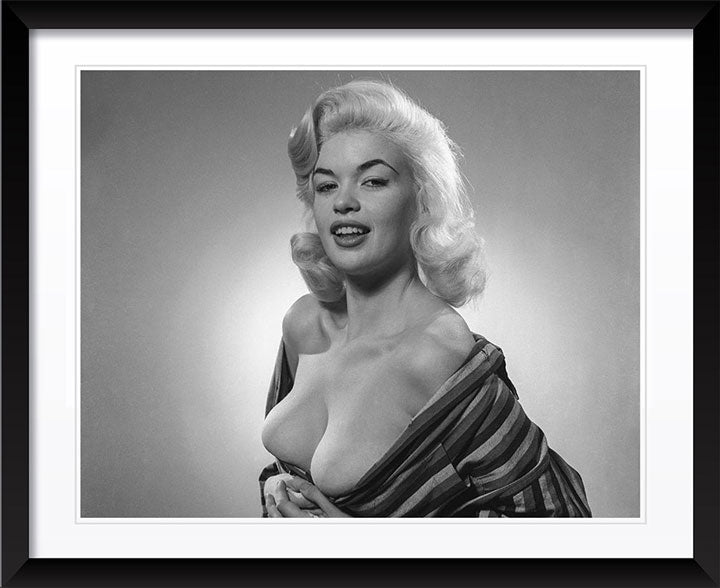 """Young Jayne Mansfield 1"" by Barry Kramer Photography"