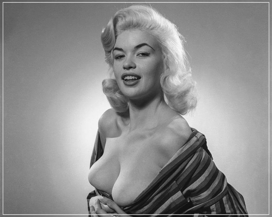 """Young Jayne Mansfield 1"" by Barry Kramer Photography-Artography Limited"