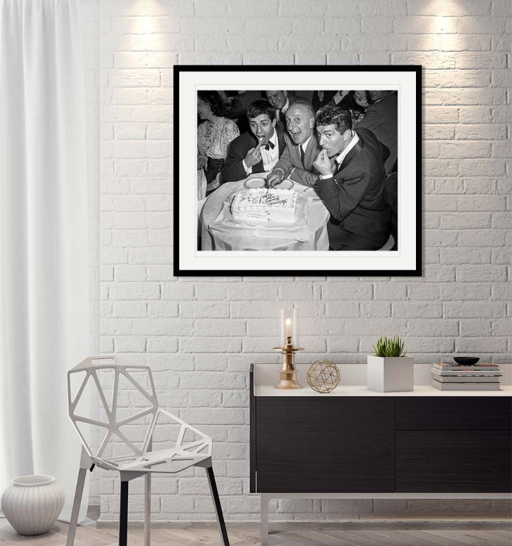 """Jerry and Dean with Jimmy Durante"" by Barry Kramer Photography-Artography Limited"