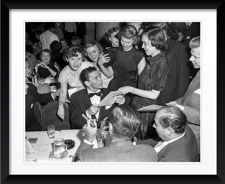 """Frank Sinatra - Autograph Table"" by Barry Kramer Photography"