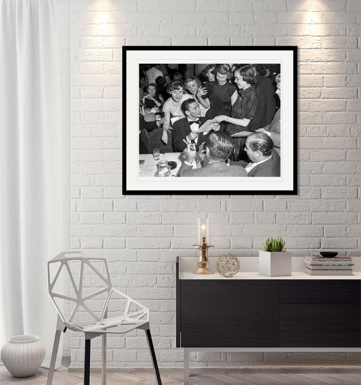 """Frank Sinatra - Autograph Table"" by Barry Kramer Photography-Artography Limited"