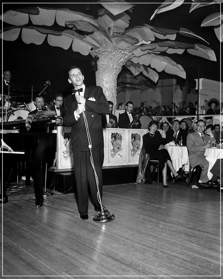 """Frank Sinatra on Copa Stage"" by Barry Kramer Photography-Artography Limited"