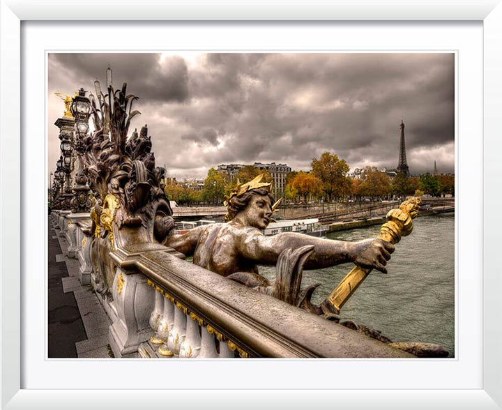 """Pont Alexandre III in Autumn, Paris 2015"" by Christopher Petsos Photography"