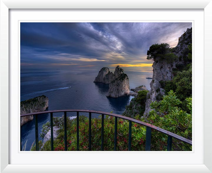 """At the Edge of The World Capri 2015"" by Christopher Petsos Photography"