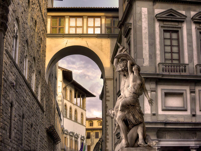 """Vasari Corridor, Florence 2016"" by Christopher Petsos Photography-Artography Limited"