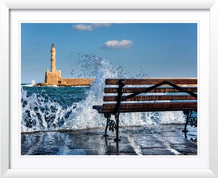 """Harbor Splash"" by Christopher Petsos Photography"