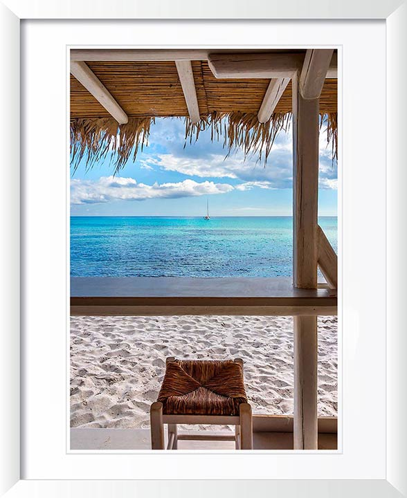 """Beach Bar"" by Christopher Petsos Photography"