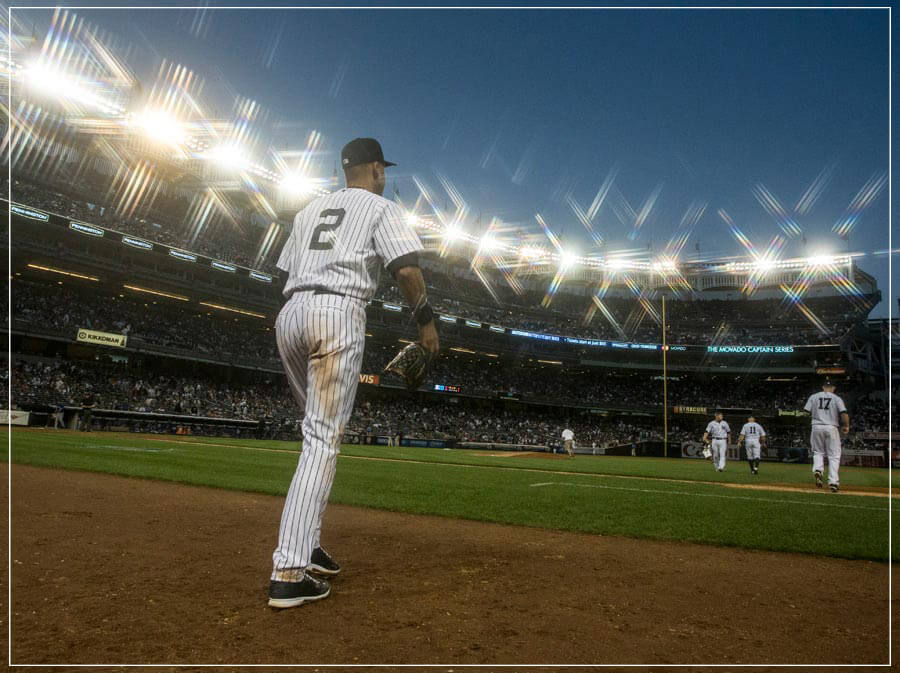 """Jeters Last Season"" by Chuck Solomon Photography-Artography Limited"