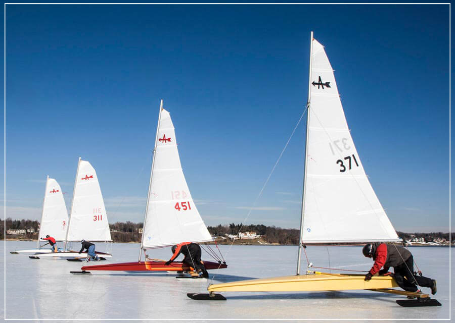 """Ice Sailing"" by Chuck Solomon Photography-Artography Limited"