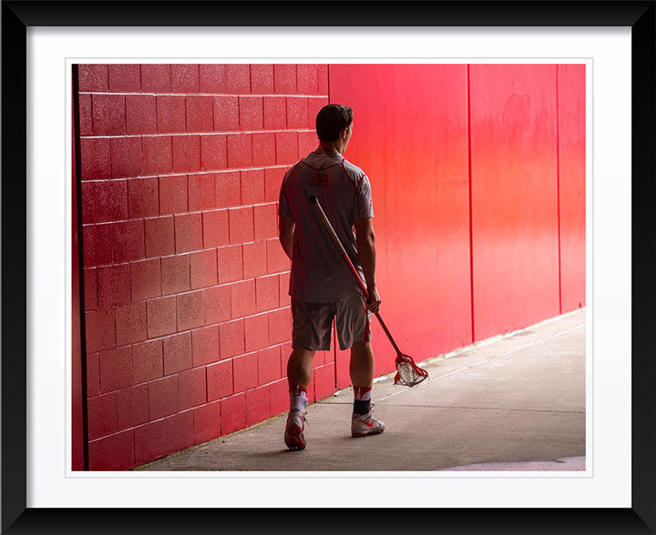 """Lacrosse Player"" by Chuck Solomon Photography"